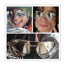 MJ Michael Jackson Classic Frog Silver Drive Mirror Sunglasses Must have Gift