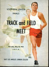 1962 Southern League Track Field Meet East Los Angeles College Program Ex