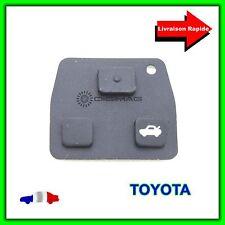 Bouton Pad 3 touches pour Coque clé Télécommande Toyota  Prius Avensis Corrola