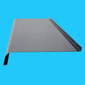 Courbe Hors Appui de Fenêtre en Aluminium Gris Anthracite Ral 7016 Tôle, Sims