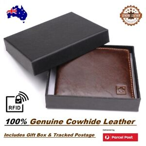 Mens Gift Ideas Gift Ideas For Men Gift Idea Wallet Genuine Cowhide Leather