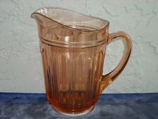 Colonial Knife and Fork Pitcher  Pink