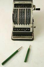 Resulta 7 Additionsmaschine mechanisch Vintage gecheckt SB-56