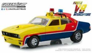 1:18 FORD FALCON XB 1st OF THE V8 INTERCEPTORS model Police car GREENLIGHT 13574