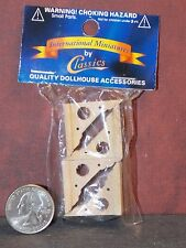 Dollhouse Miniature Victorian Eaves Brackets Set of 4 A 1:12 one inch scale K11
