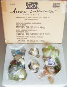 Home Interiors: IT'S GARDENING TIME Porcelain Easter Bunny Family #11853. NIB!