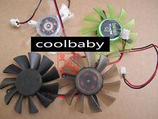 XFX CD6010H12S Graphics card cooling fan DC12V 0.21A 2Pin 5pcs