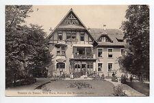 SUISSE SWITZERLAND canton de GENEVE GENEVE Pension dames VILLA CLARA av Bosquets