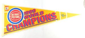 1989 Detroit Pistons World Champions Bad Boys Full Size Pennant