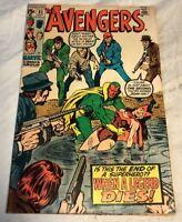 The Avengers # 81 Marvel Comic Book 1970