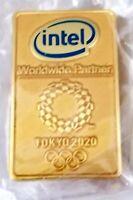 2020 Tokyo Olympic INTEL MEDIA pin