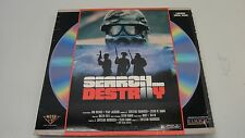 SEARCH AND DESTROY LASERDISC