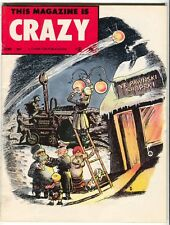 This Magazine Is Crazy 5 Charlton 1958 VF Russia Pawn Shop Man On The Moon