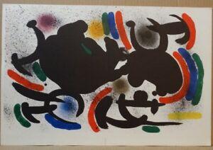Joan Miró, Original Lithograph VII