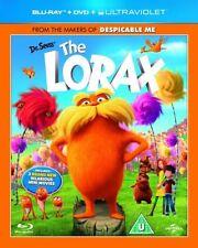 DR SEUSS - THE LORAX - BLU RAY + DVD + UV - NEW / SEALED - UK STOCK
