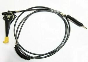 JCB BACKHOE - THROTTLE CABLE ASSY. WITH LEVER  and KNOB (PART NO. 333/G6970)