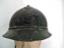 FRANCE 1ère GM  14-18 : CASQUE ADRIAN CHASSEUR ALPIN WW1 FRENCH ADRIAN HELMET