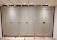 Painted 6 Door Kitchen Storage / Larder Cupboard - free standing - hand made