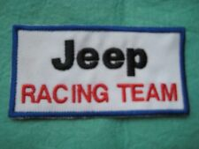 "Jeep Racing Team Off Road Uniform Patch 4"" X 2"""