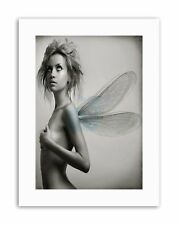DT NUDE FAIRY GIRL WINGS SEXY SPRITE Picture Canvas art Prints