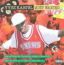 MOST WANTED BY VYBZ KARTEL CD *NEW* AUS EXPRESS