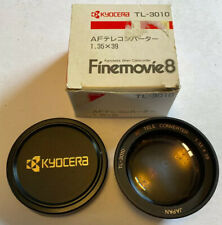 Kyocera TL-3010 FineMovie8 Tele Converter 1.35 x 39 Lens, KD-3010 Video Camera