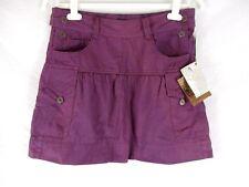 Oakley Womens Shakedown Skirt Sz 4 Purple Boho A-Line Casual Summer CB64K