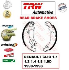FOR RENAULT CLIO 1.1 1.2 1.4 1.8 1.9D 1990-1998 REAR AXLE BRAKE SHOES SET 180mm