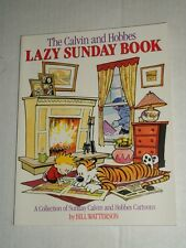 The Calvin & Hobbes LAZY SUNDAY BOOK Collection TPB Trade Paperback