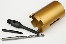 Diamant-Bohrkrone 68 x 135 mm mit SDSplus-Anschluss und 5 Segment für Handwerker