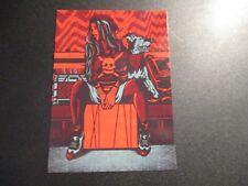 ROCKETS ARE Red 5X7 Postcard BOUNCING SOULS poster print Everett gaslight anthem