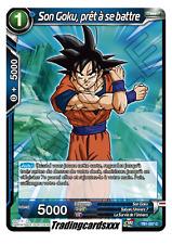 DRAGON BALL SUPER SON GOKU PILIER DE L/'UNIVERS 7 TB1-003 C PLAYSET 4 FR NEUF