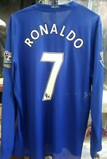 NWT Authentic Nike 2009 Manchester United RONALDO Player Issue L/S Jersey