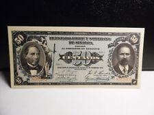 Mexico Revolutionary Sinaloa 50 Centavos Banknote Unc [ Ser # 89292 ]