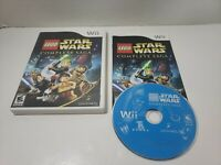 LEGO Star Wars The Complete Saga (Nintendo Wii) Complete cib game free shipping!