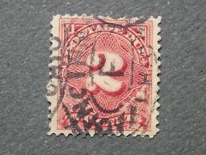 (1) U S used 1894 Postage Due stamp-Scott # J32