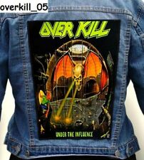 OVERKILL   Back Patch Backpatch ekran new
