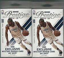 2014-15 Panini Prestige Basketball NBA Trading Cards Hanger Box - Lot of 2