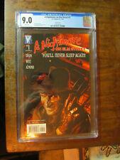A Nightmare On Elm Street #1 Tim Bradstreet VARIANT CGC 9.0 VF/NM Freddy Krueger
