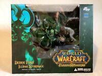 DC Direct World of Warcraft WoW Illidan Stormrage Demon Form Action Figure New