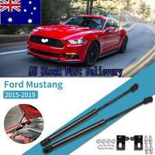 2x Front Hood Bonnet Lift Support Rod Gas Struts Fit For Ford Mustang 2015-2019