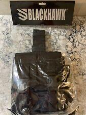 BlackHawk OMEGA ELITE MAG POUCH Brand New Black Holds 2 561601BK