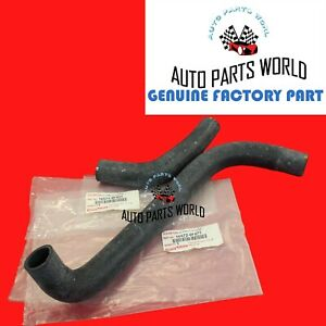 GENUINE OEM TOYOTA SEQUOIA TUNDRA 4.7L UPPER & LOWER RADIATOR COOLANT HOSE SET