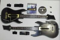 2 with DONGLES & Guitar Hero Live GAME BUNDLE 2 Controller s WII U & PS3 0000654