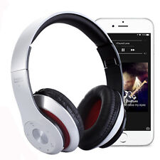Bluetooth Wireless Foldable Headset Stereo Headphone Earphone for iPhone Samsung