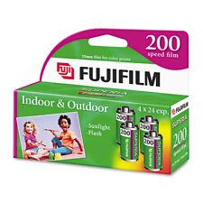 (4 Rolls) Fuji 200 35mm Film 4pk CA 135-24 Exp Fuji Camera 12/2017 Wholesale