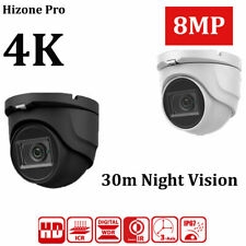 DOME CCTV CAMERA 8MP 4K UHD 4IN1 TVI AHD CVI FULL HD OUTDOOR 30M IR NIGHT VISION