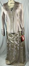 JS Collections Mother Of The Bride Dress Skirt Blouse 2 Piece Size 4 852801P