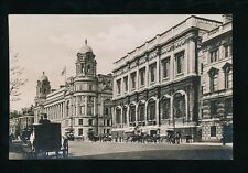 LONDON Whitehall War Office Service Museum c1900s? RP PPC