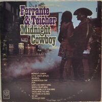 "Ferrante & Teicher ""Midnight Cowboy"" [United Artists UAS 6725] 1969 Vinyl LP"